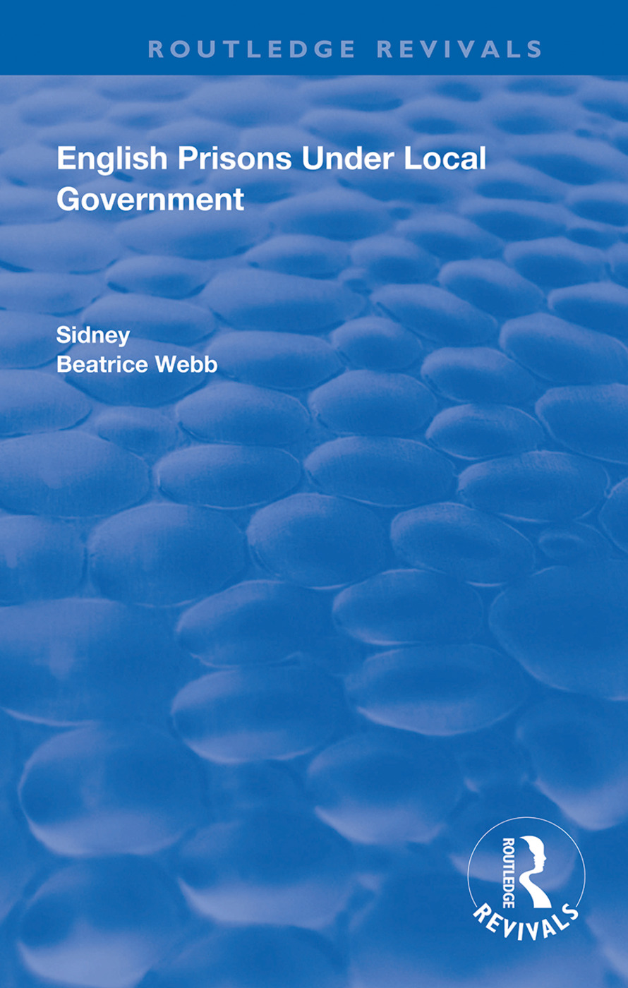 English Prisons Under Local Government book cover