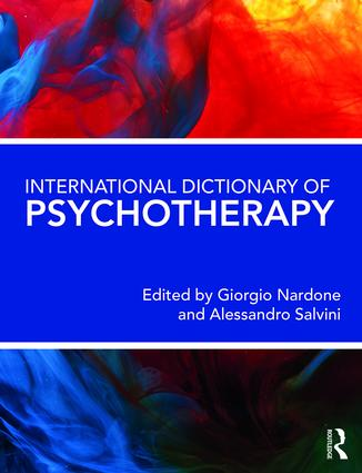 International Dictionary of Psychotherapy: 1st Edition (e-Book) book cover