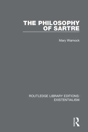 The Philosophy of Sartre: 1st Edition (Hardback) book cover
