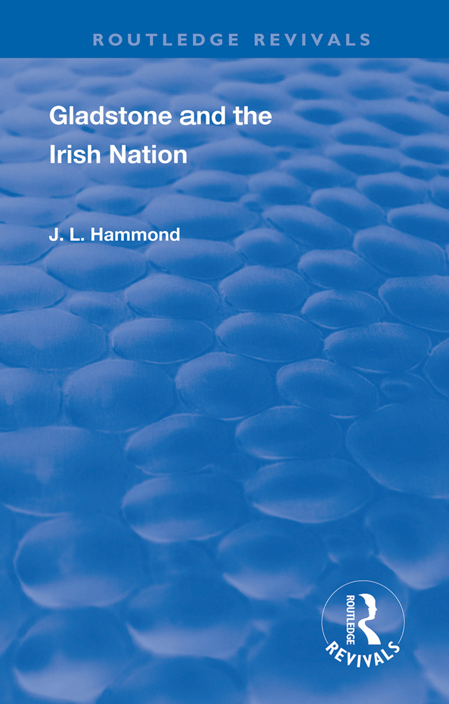 Gladstone and the Irish Nation book cover