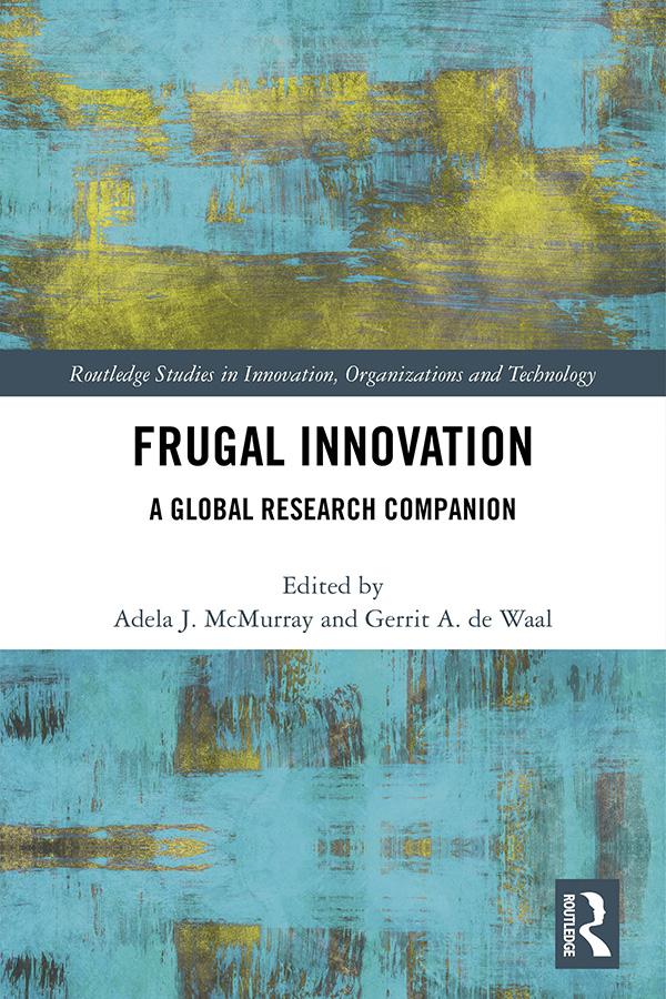 Frugal Innovation: A Global Research Companion book cover