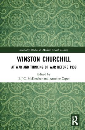 Winston Churchill: At War and Thinking of War before 1939 book cover