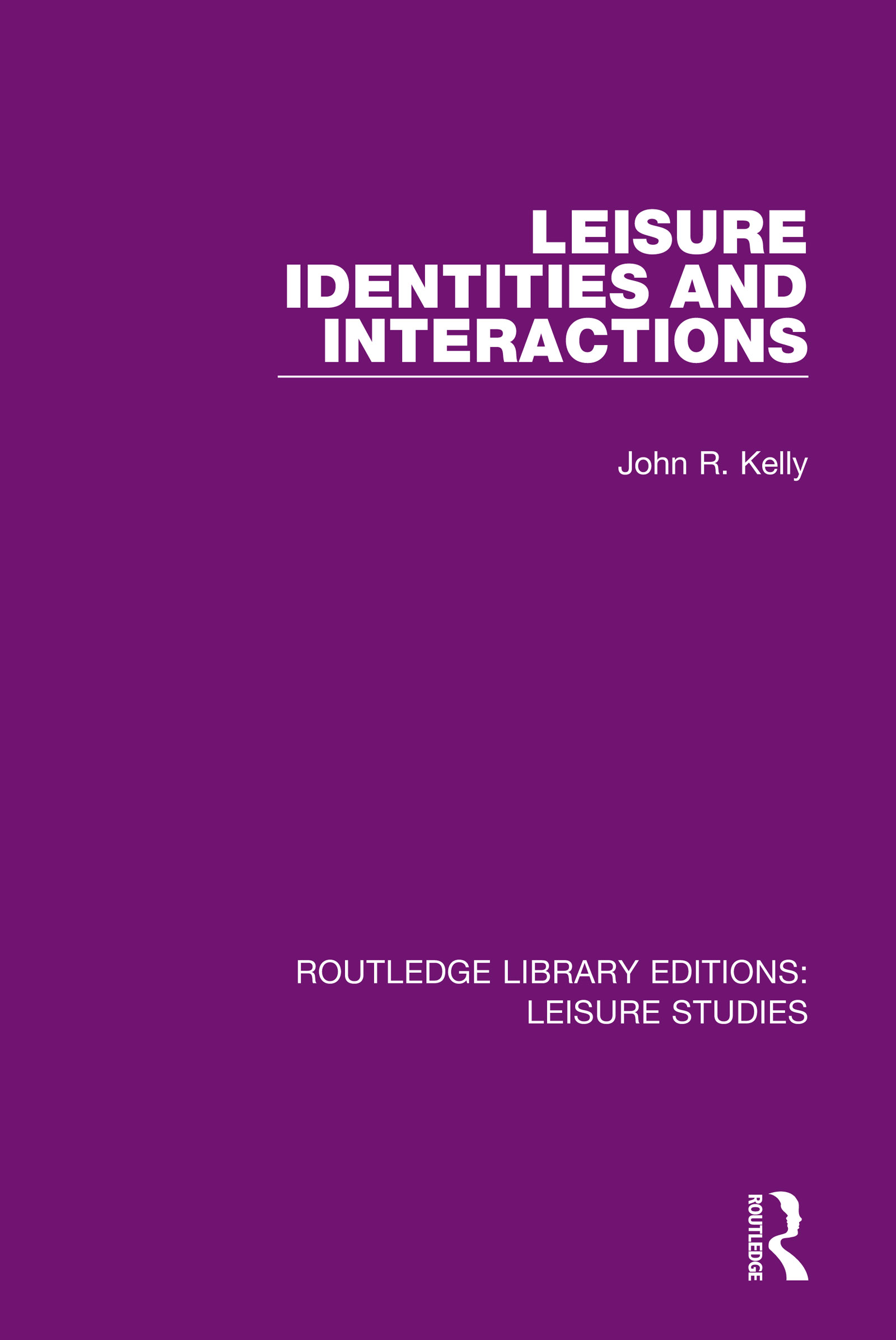 Leisure Identities and Interactions