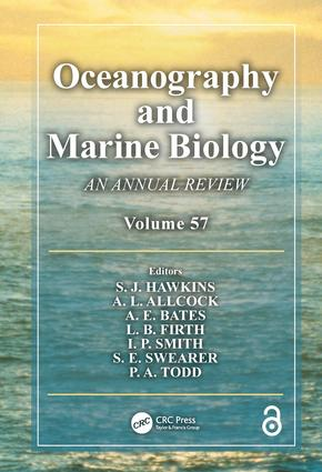 Oceanography and Marine Biology: An Annual Review, Volume 57 book cover