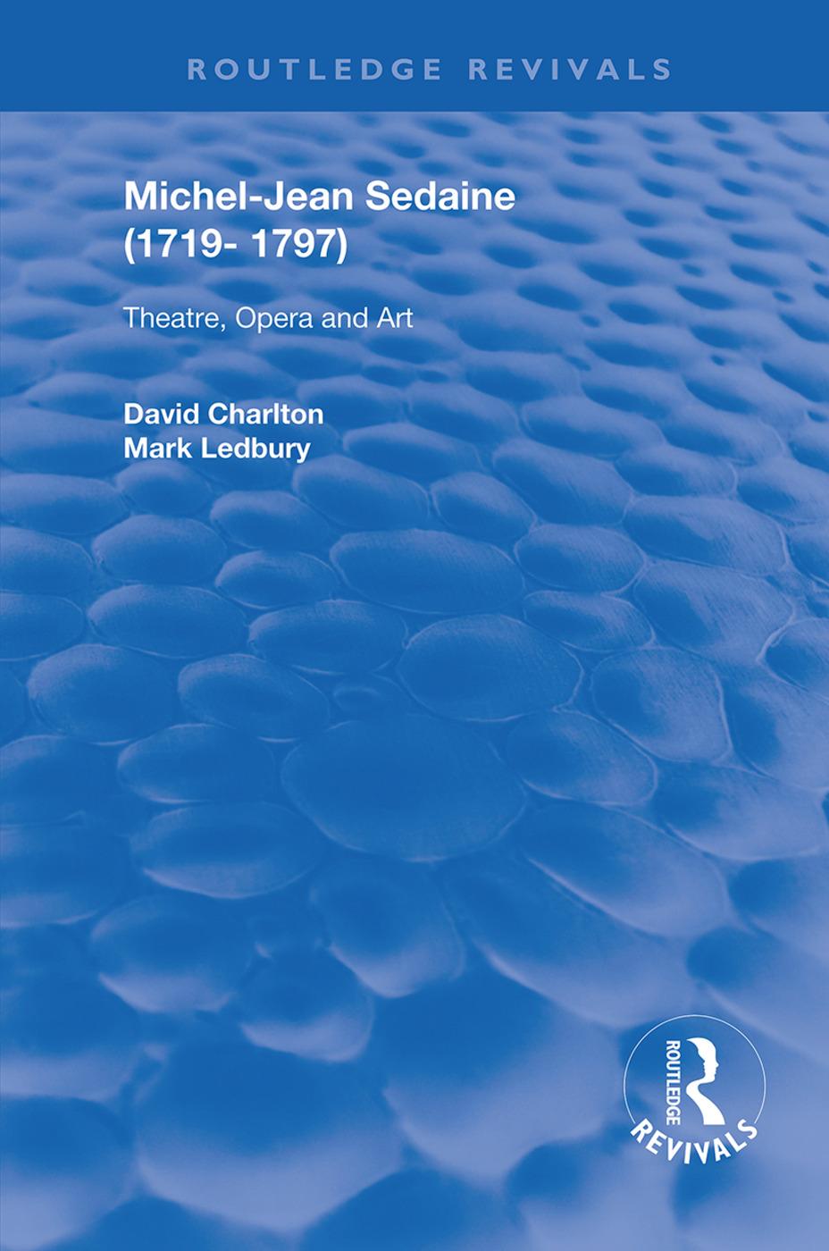 Michel-Jean Sedaine (1719-1797): Theatre, Opera and Art, 1st Edition (e-Book) book cover