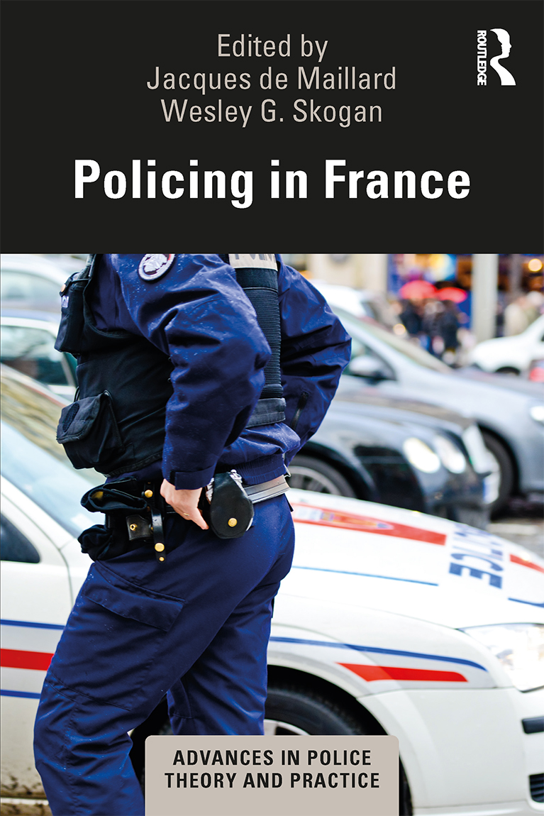Policing in France book cover