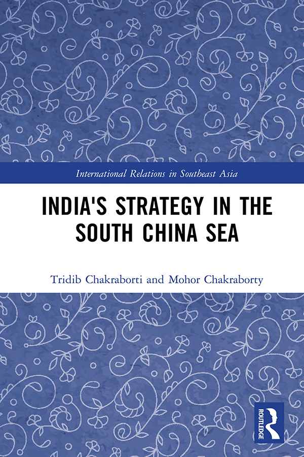 India's Strategy in the South China Sea: 1st Edition (Hardback) book cover