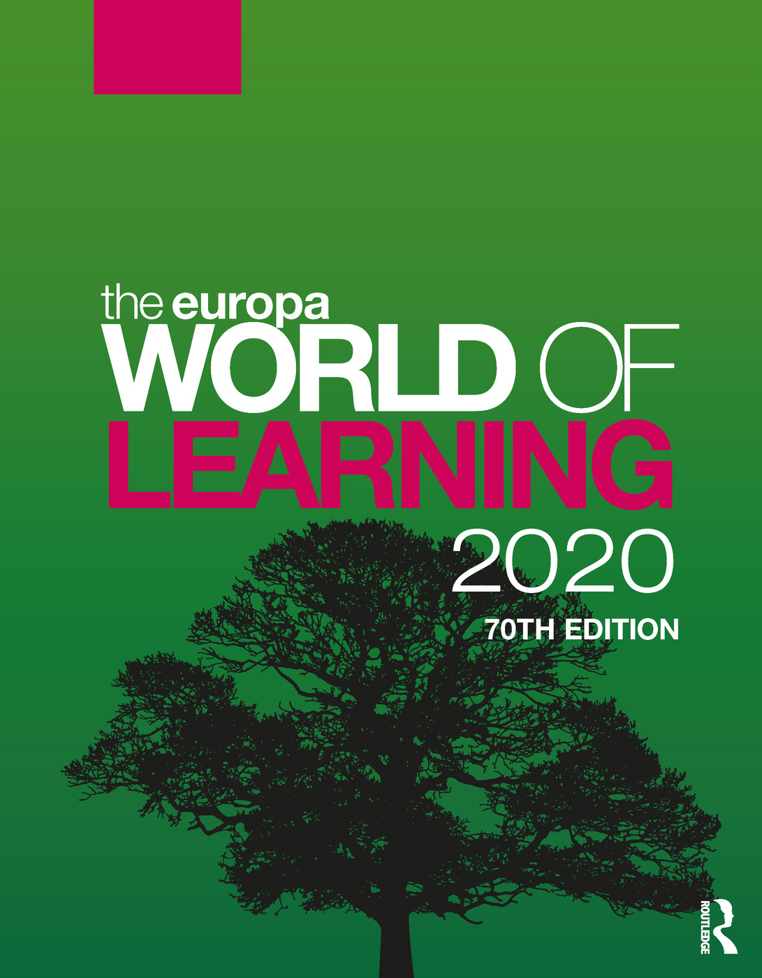 The Europa World of Learning 2020 book cover