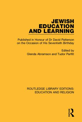 Routledge Library Editions: Education and Religion: 1st Edition (Hardback) book cover