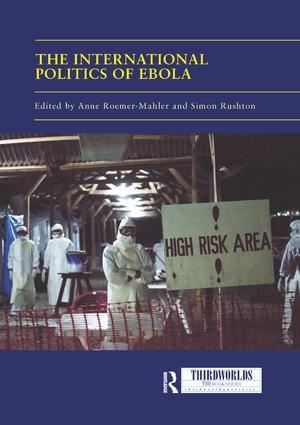 The International Politics of Ebola book cover