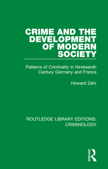 Crime and the Development of Modern Society