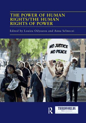The Power of Human Rights/The Human Rights of Power book cover