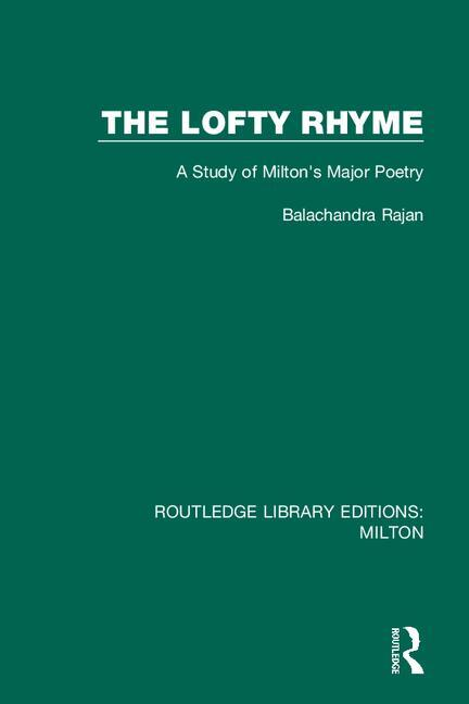 The Lofty Rhyme