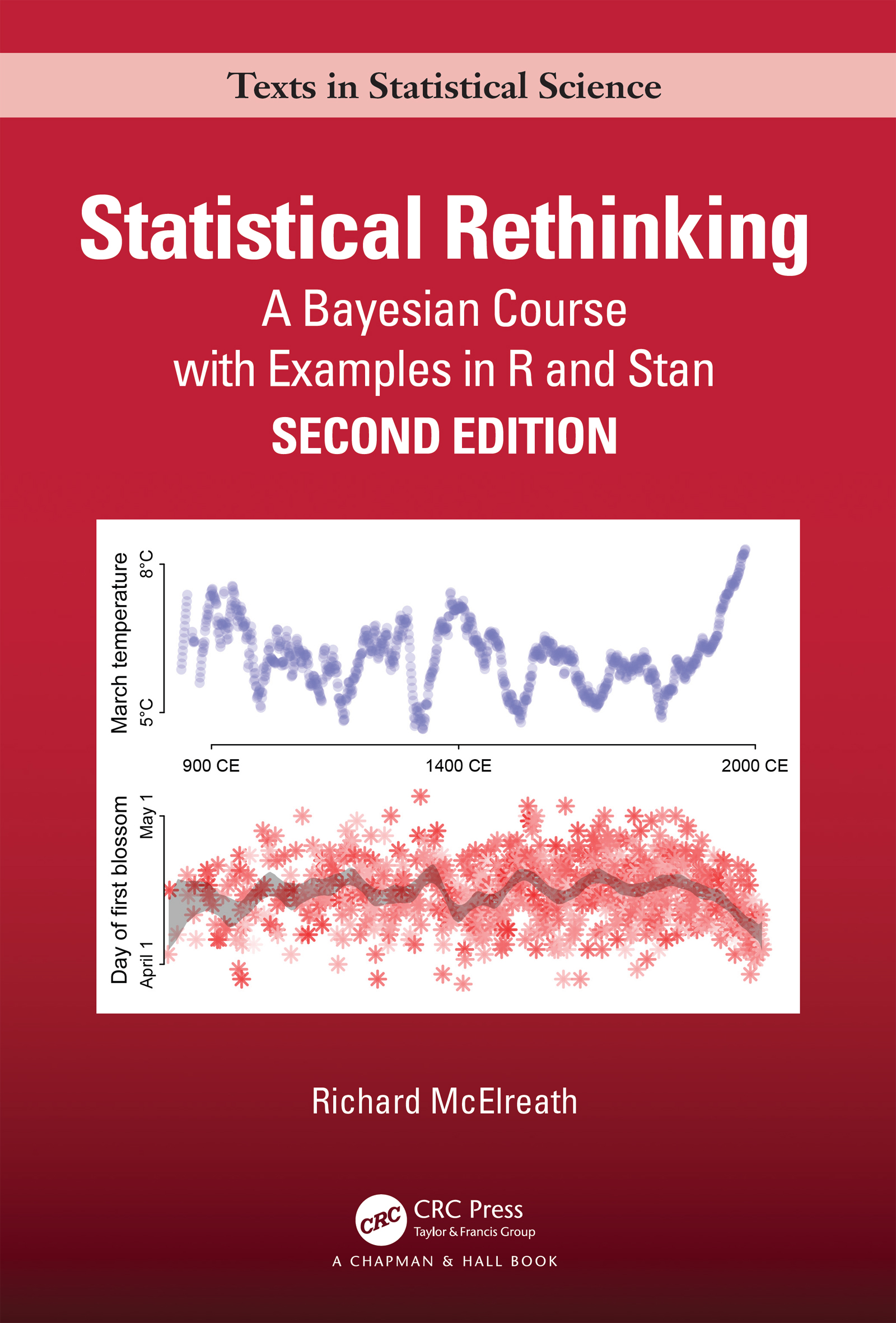 Statistical Rethinking: A Bayesian Course with Examples in R and STAN book cover