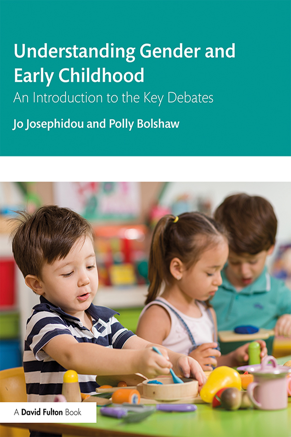 Understanding Gender and Early Childhood: An Introduction to the Key Debates book cover