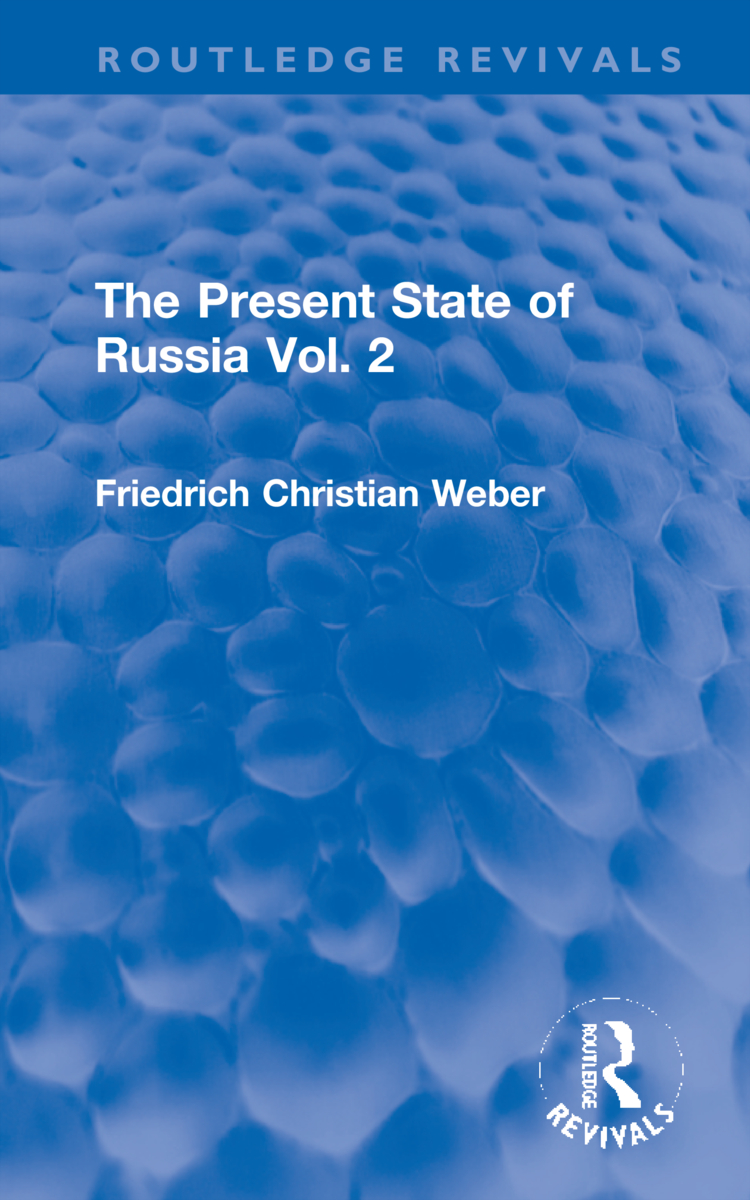The Present State of Russia Vol. 2 book cover