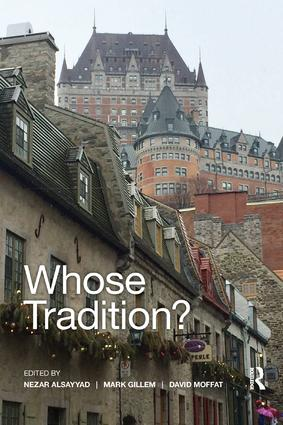 Whose Tradition?: Discourses on the Built Environment book cover