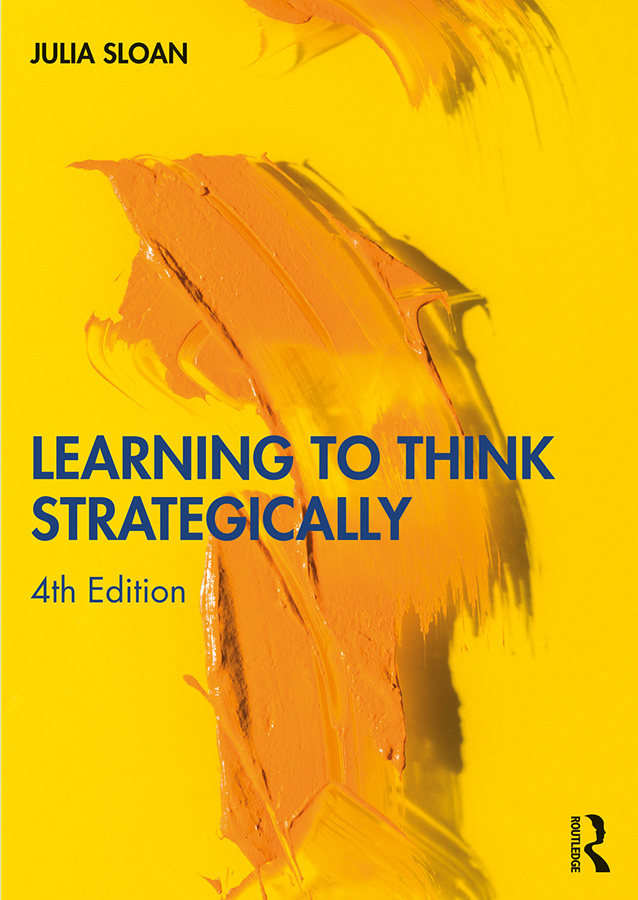 Learning to Think Strategically: 4th Edition (Paperback) book cover