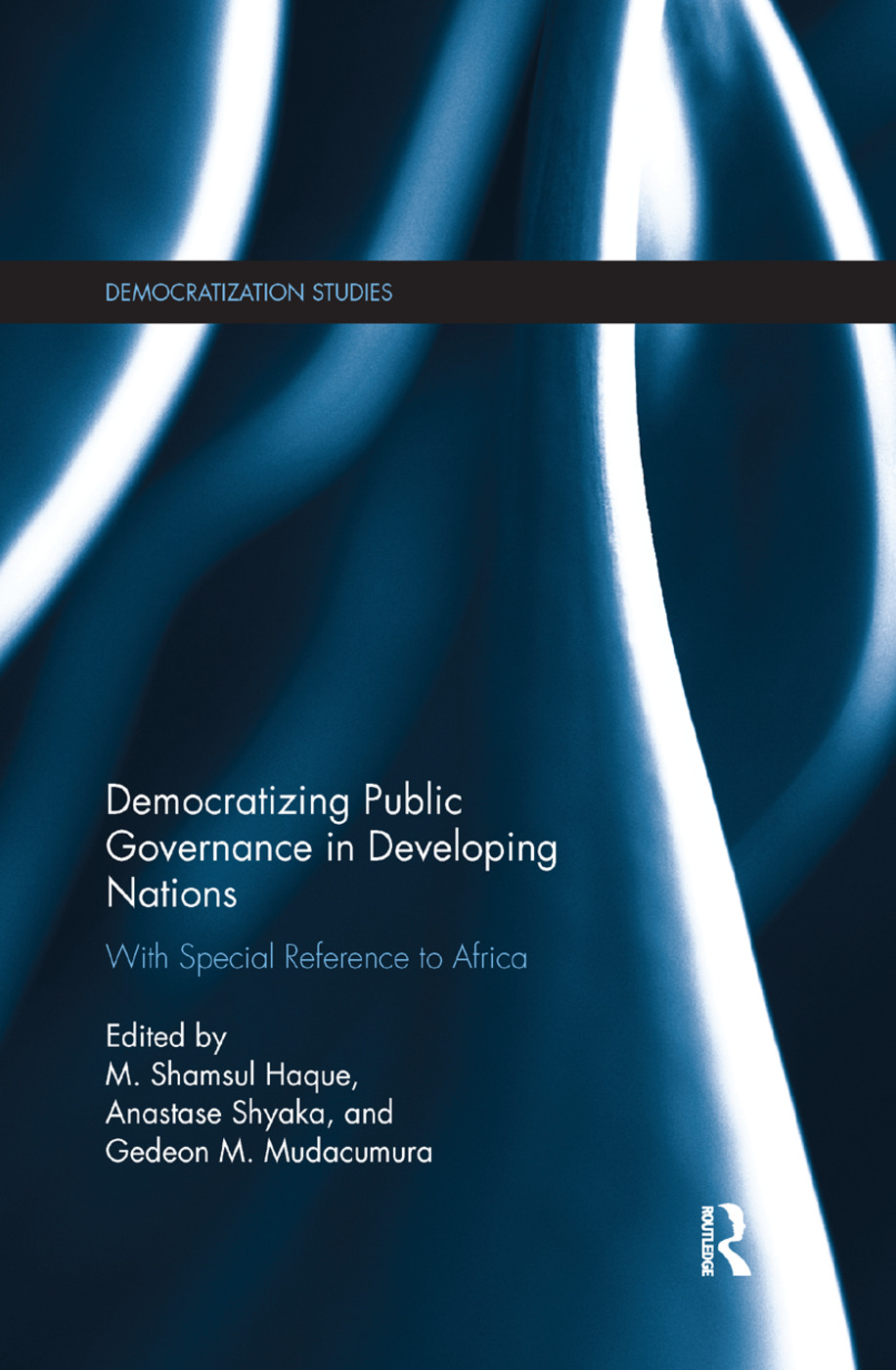 Democratizing Public Governance in Developing Nations: With Special Reference to Africa, 1st Edition (Paperback) book cover