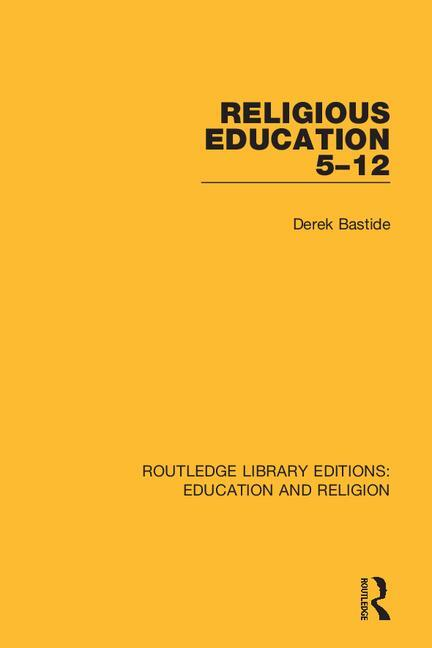 Religious Education 5-12 book cover