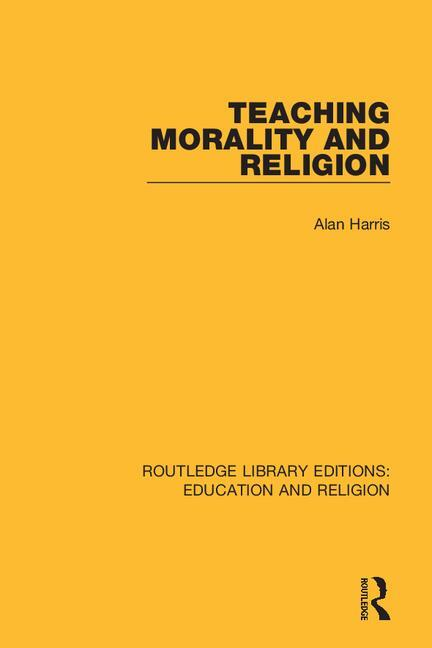 Teaching Morality and Religion book cover