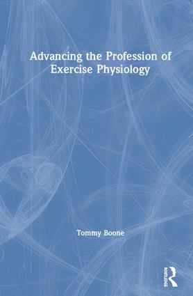 Advancing the Profession of Exercise Physiology book cover
