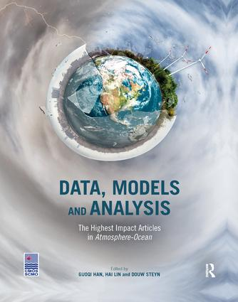 Data, Models and Analysis: The Highest Impact Articles in 'Atmosphere-Ocean', 1st Edition (Paperback) book cover