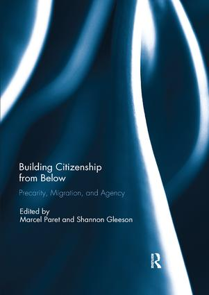 Building Citizenship from Below: Precarity, Migration, and Agency book cover