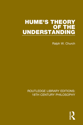 Hume's Theory of the Understanding