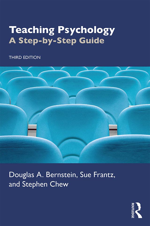 Teaching Psychology: A Step-by-Step Guide, 3rd Edition (Paperback) book cover