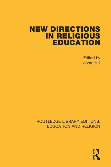 New Directions in Religious Education book cover