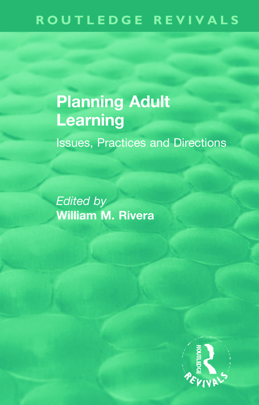 Planning Adult Learning: Issues, Practices and Directions book cover