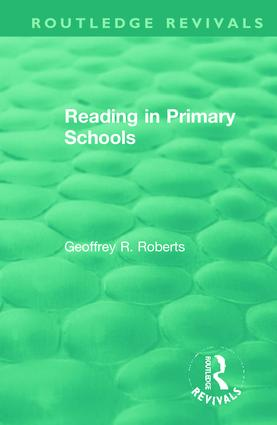 Reading in Primary Schools: 1st Edition (e-Book) book cover