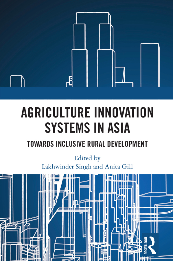 Agriculture Innovation Systems in Asia: Towards Inclusive Rural Development, 1st Edition (Hardback) book cover