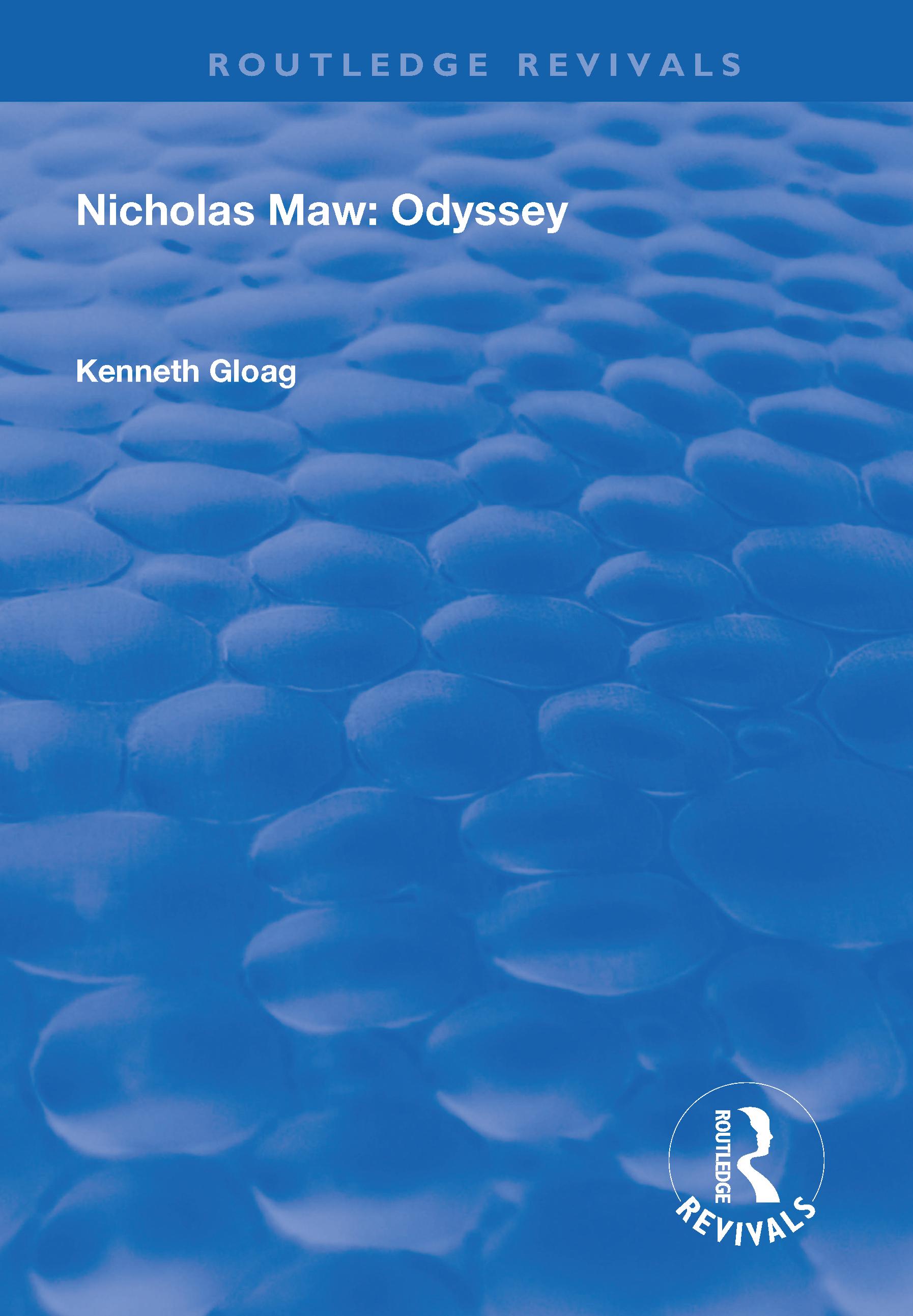 Nicholas Maw: Odyssey book cover