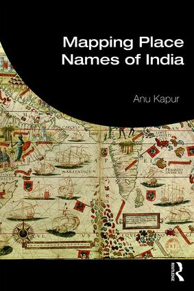 Mapping Place Names of India book cover