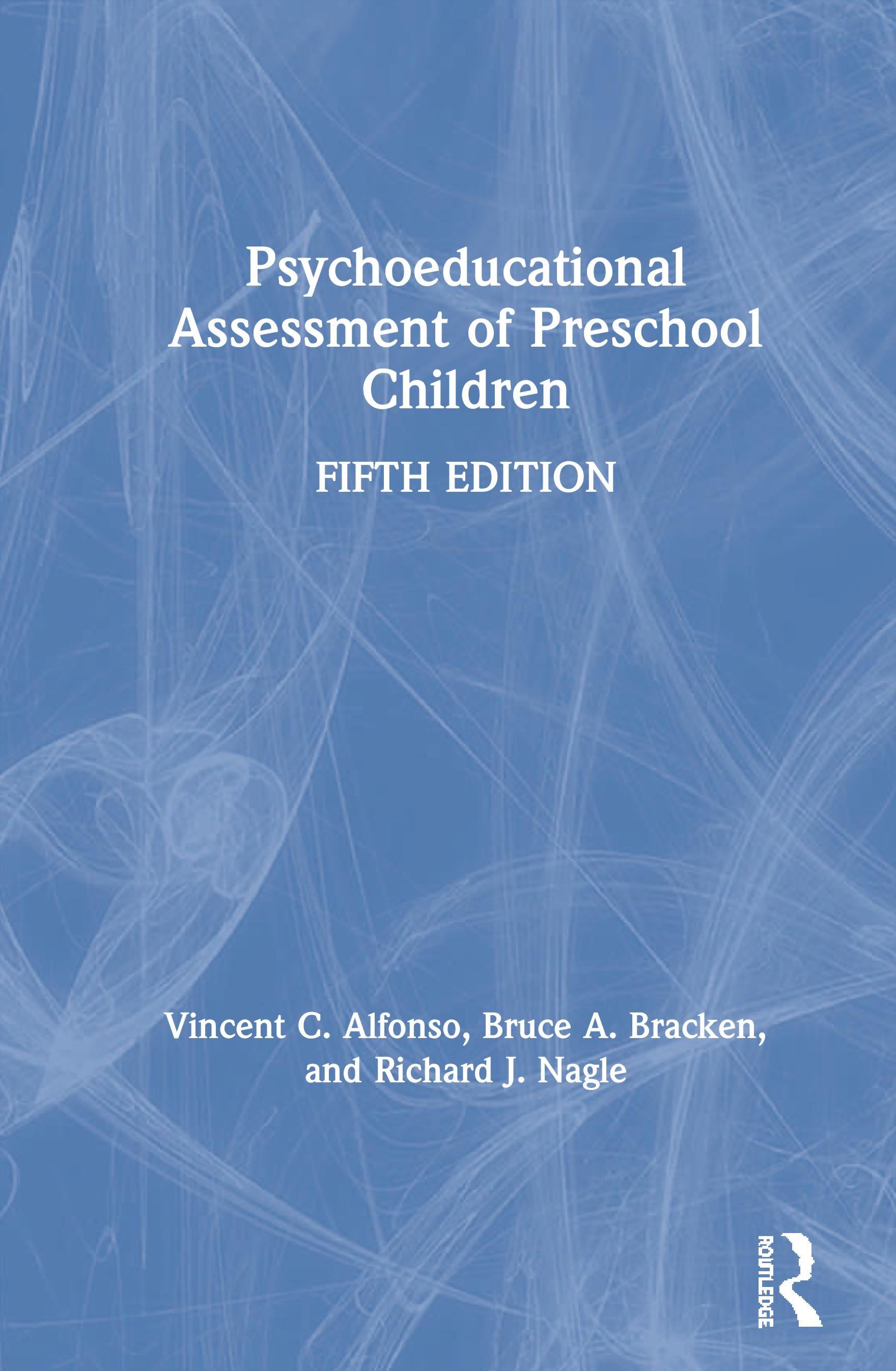 Psychoeducational Assessment of Preschool Children book cover
