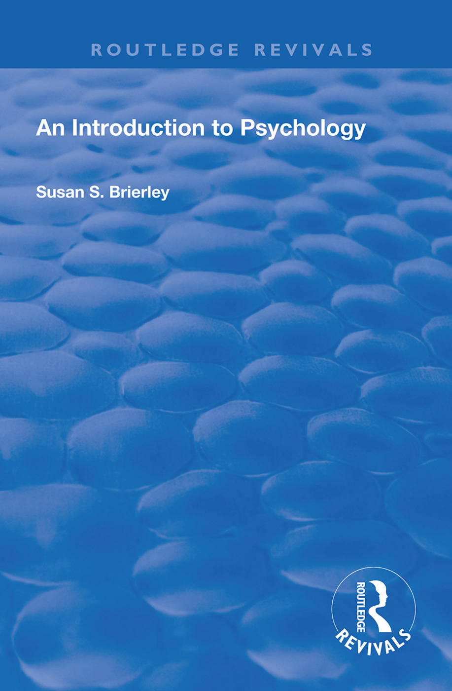 An Introduction to Psychology: 1st Edition (Paperback) book cover