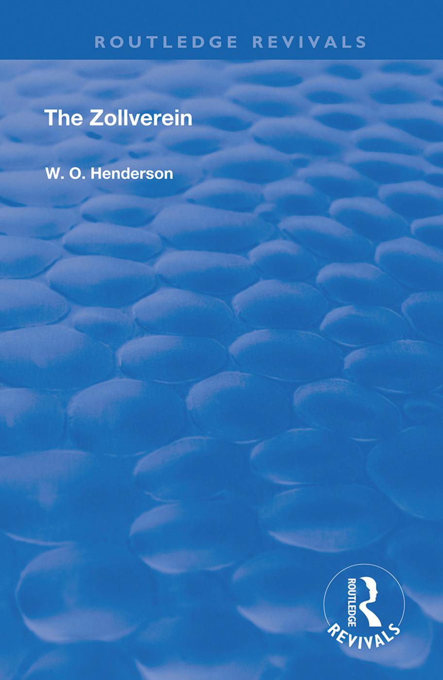 The Zollverein book cover