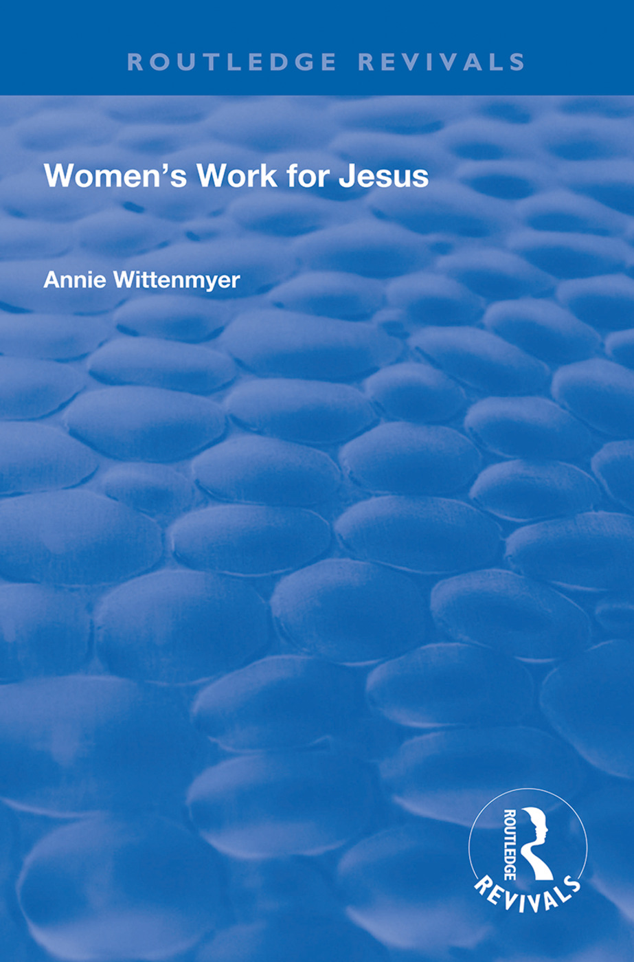 Women's Work for Jesus book cover