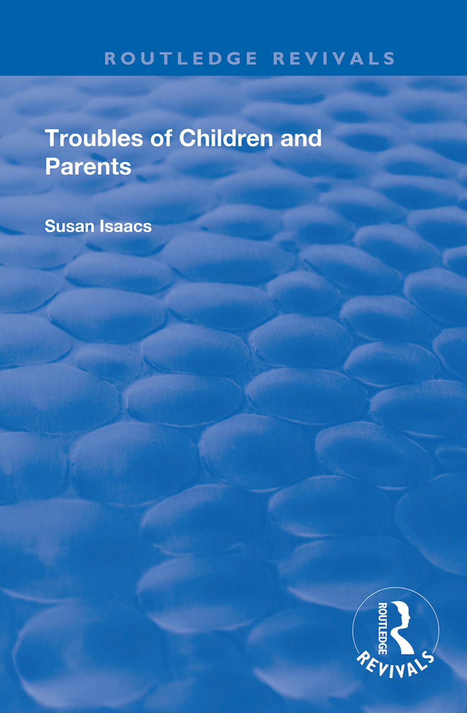 Troubles of Children and Parents book cover