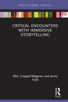 Critical Encounters with Immersive Storytelling book cover
