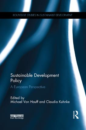 Sustainable Development Policy: A European Perspective, 1st Edition (Paperback) book cover