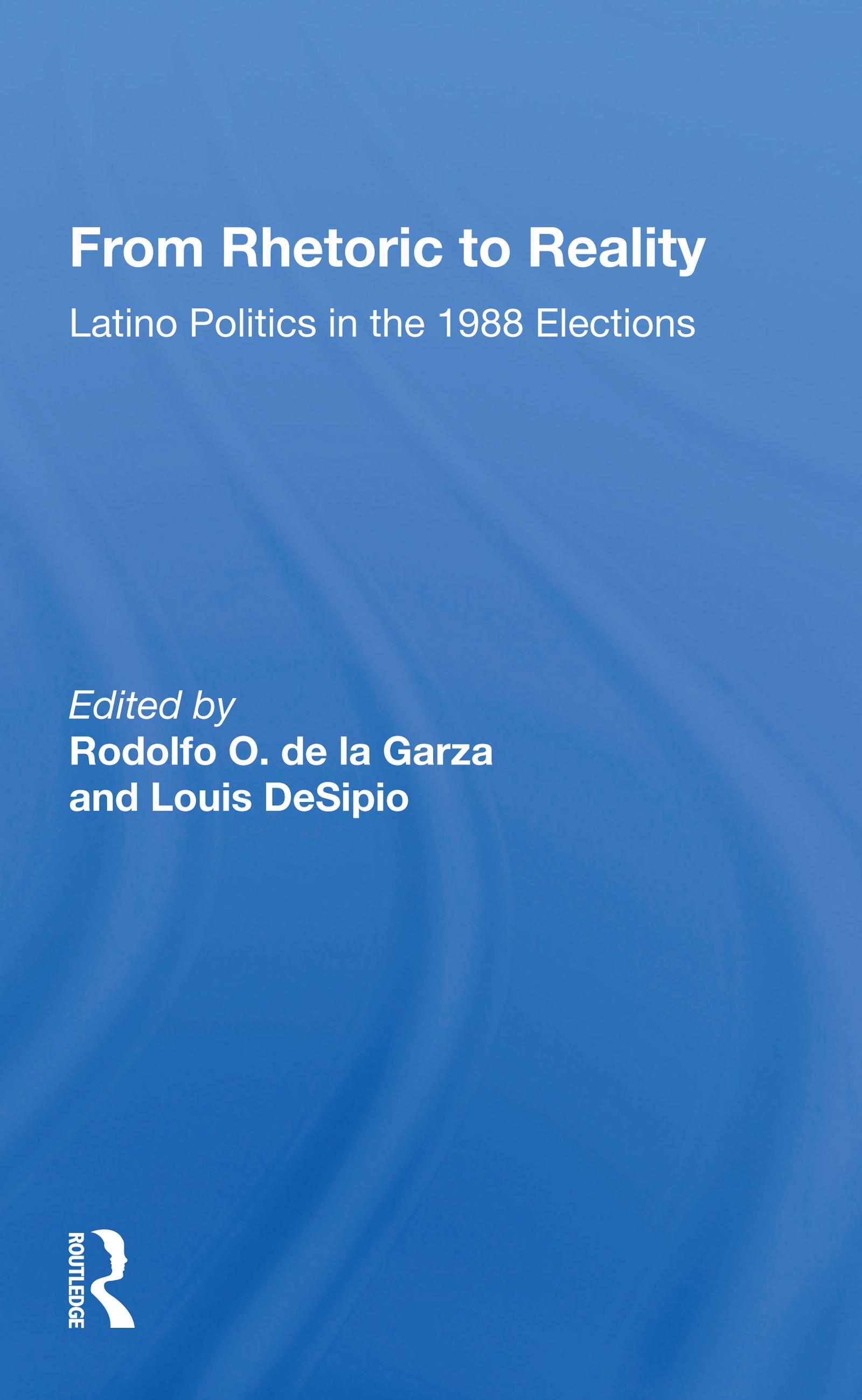 Latinos and the 1988 Elections: Arizona