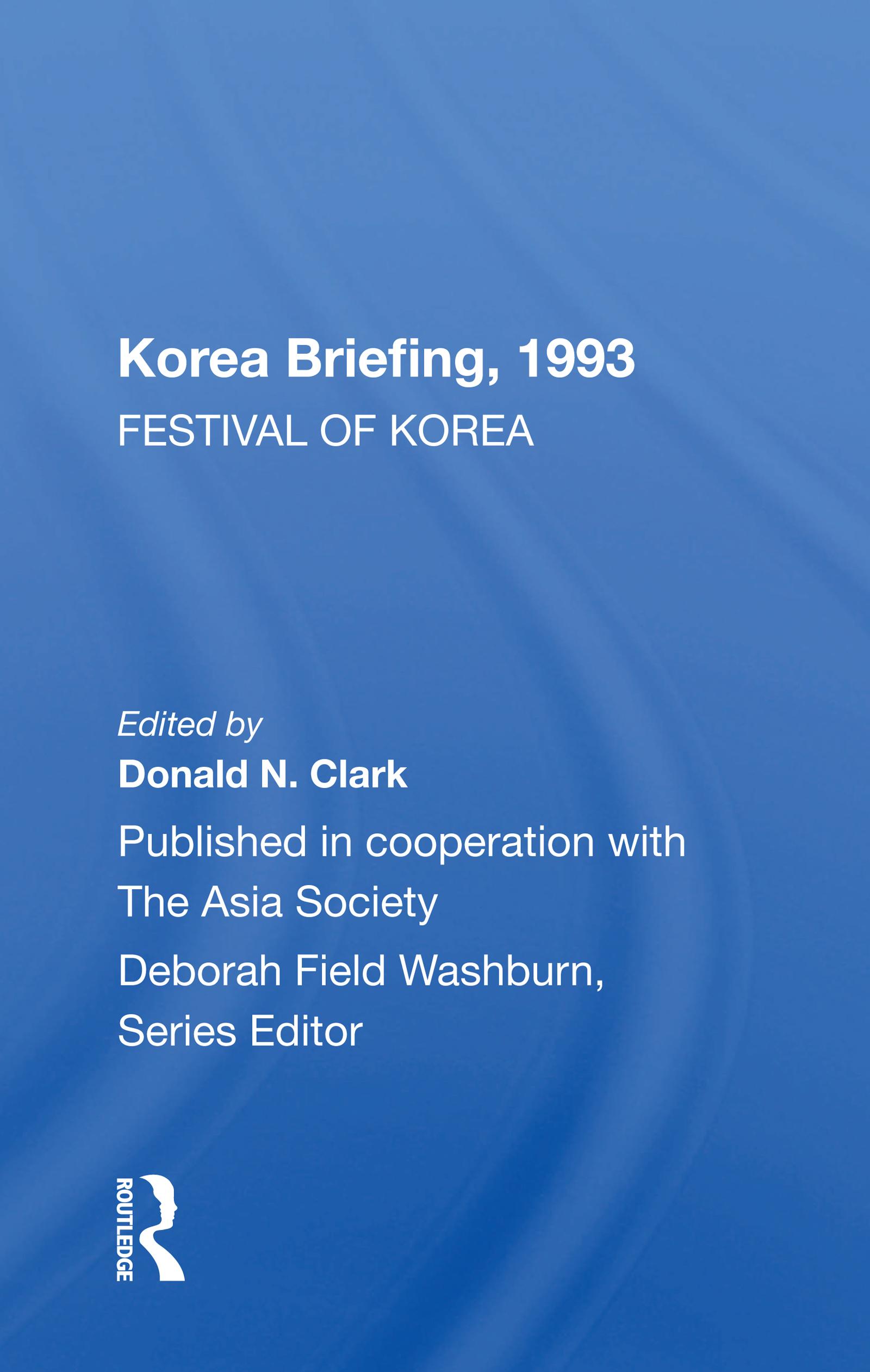 Korea Briefing, 1993