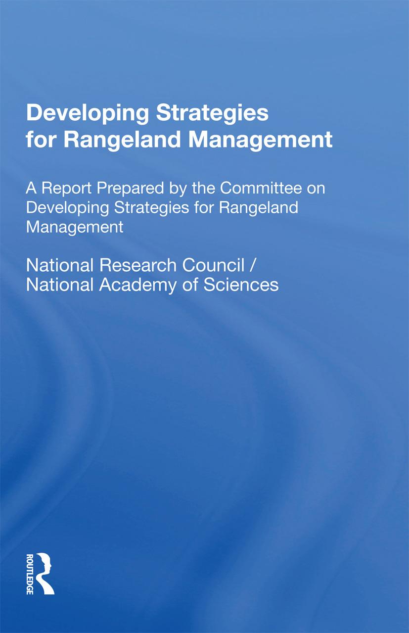 Developing Strategies For Rangeland Management