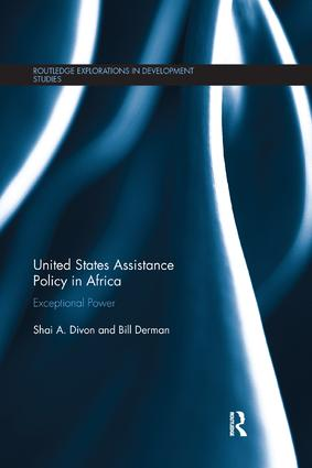 United States Assistance Policy in Africa: Exceptional Power, 1st Edition (Paperback) book cover