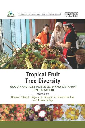 Tropical Fruit Tree Diversity: Good practices for in situ and on-farm conservation book cover