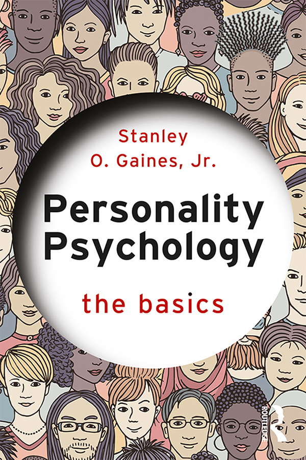 Personality Psychology: The Basics book cover