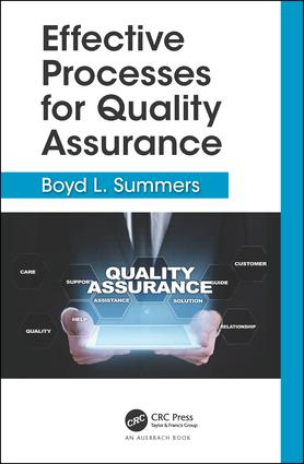 Effective Processes for Quality Assurance book cover